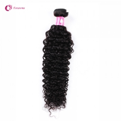 Virgin Brazilian Deep Curly Human Hair Weaves