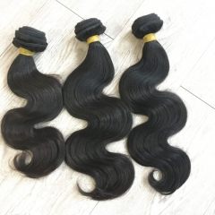 3pcs lot Body wave 9A one donor hair bundles wholesale Brazilian hair weaves 100% human hair