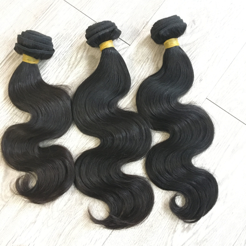 One donor body wave virgin hair bundles wholesale 100% human hair weaves