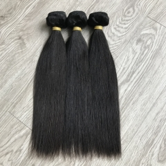 Unprocessed virgin straight hair wholesale hair bundles virgin hair raw hair weaves