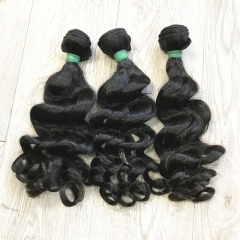 Natural loose wave virgin hair 9A hair wholesale Brazilian hair