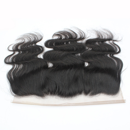 Brazilian Body Wave Lace Frontal Virgin Human Hair 13x4 Swiss Lace Wavy Frontal
