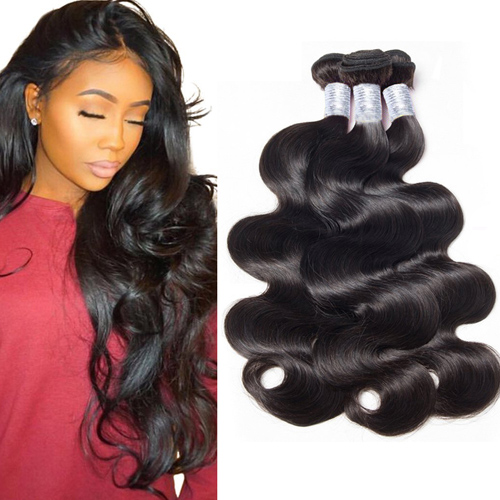 3-4 bundles Brazilian Body Wave Peruvian hair Weft Unprocessed Human Hair Weave Real Hair