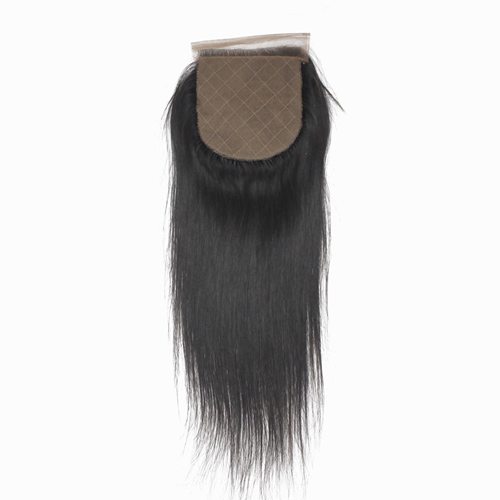 Brazilian Virgin Hair Silk Base Lace Closure 4*4 Straight Swiss Lace Closures