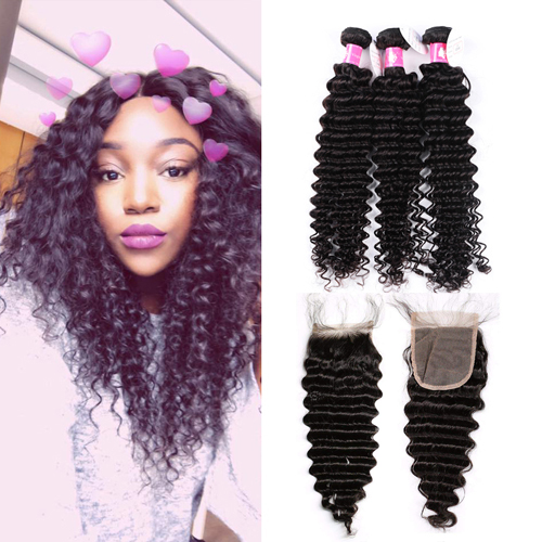 Deep Curly Brazilian Hair