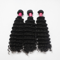 Wholesale Mink Brazilian Deep Wave Hair Bundles