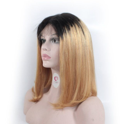 95245d3fb 1b/27 Ombre straight lace bob wigs for sale 150 density wigs
