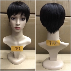 Human Hair Short Wigs Non Lace Short Wig For Black Women