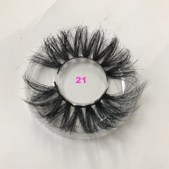 Natural Mink Lashes 25mm Eyelashes 7 styles