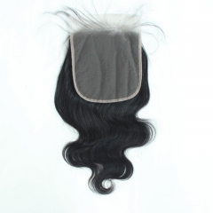 6x6 Straight Transparent Lace Closure Body Wave Invisible Pre Plucked Lace Closure
