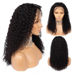 Brazilian Deep Curly Lace Front Wig Human Hair Curly Wigs