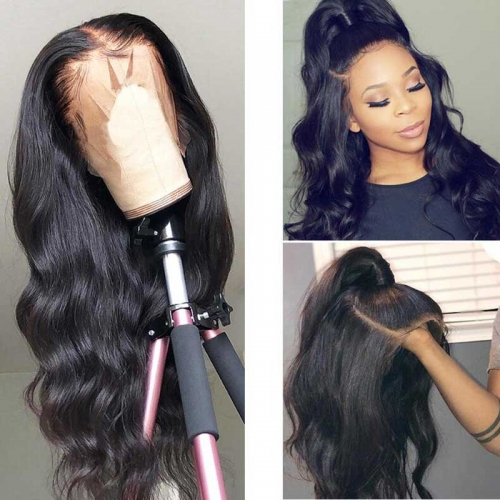 10A PrePlucked Body Wave Full Lace Wigs 100% Human Hair Wigs