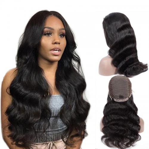 10A Body Wave Transparent Lace Front Wigs Brazilian Human Hair Wigs