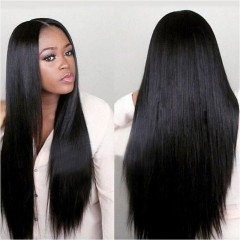 10A PrePlucked Straight Full Lace Wigs 100% Human Hair Wigs