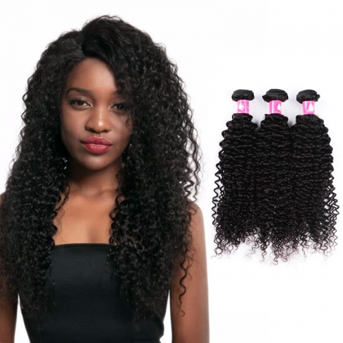 3 Bundles Unprocessed Deep Curly Brazilian Hair Bundles